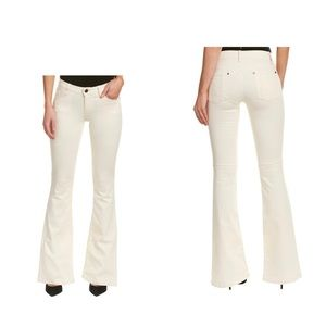 Alice + Olivia Stacy Natural Flare Leg Pants